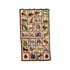 Animal Alphabet Rug Needlepoint Kit by Elizabeth Bradley