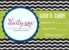 for vendor shows & events  www.mythirtyone.com/LaurenHoffman