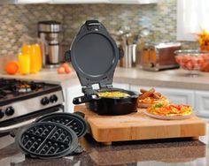 2 Maneiras de Cozinhar: Waffles ou Omeletes com o que você desejar