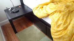 Got a MALM bed with drawers? Want easy nightstands?