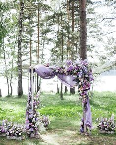 Weddings Ideas – Notable ways to inspire a fascinating date. Yearning for more … Weddings Ideas – Notable ways to inspire a fascinating date. Yearning for more sweet ideas, visit the link 5169494085 right now. Lilac Wedding Colors, Lavender Wedding Decorations, Lavender Wedding Theme, Wedding Flower Guide, Wedding Ceremony Decorations, Wedding Flower Arrangements, Summer Wedding Colors, Floral Wedding, Light Purple Wedding
