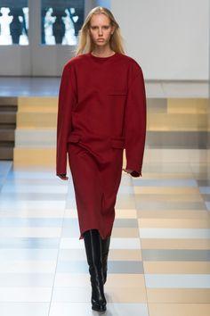 L'oversize rouge Jil Sander
