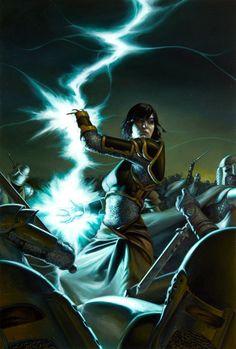 Awesome lightning powers!