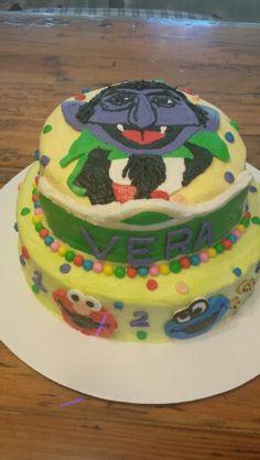 Seasame street cake