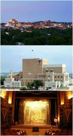 At the top of the highest hill, the McAlester Scottish Rite Masonic Center sits as the tallest building in town. The breathtaking architecture and 1930 Kimball organ are just a couple of the many reasons to stop in for a tour of this Oklahoma attraction.