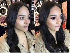 beforeandafter makeup by lyfestylzsalon makeupartist nars mac sephora