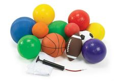 (Limited Supply) Click Image Above: Ultimate Ball Kit - Set Of 14 Discount School Supply, Outdoor Play, Latex Free, Soccer Ball, Bag Storage, Summer Fun, Things That Bounce, Kit, Activities