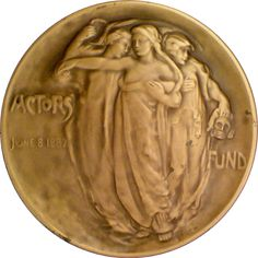Actors' Fund Medal of Honor, Second Version by Chester Beach (1958)