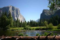 Yosemite NP in summer