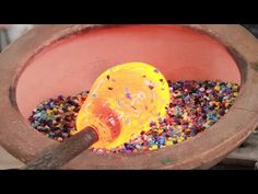 The Amazing Birth Of A Hand Blown Glass Pitcher - YouTube