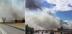 CALDO E VENTO, prima giornata di inferno. Vastissimo incendio. IL VIDEO a cura di Redazione - http://www.vivicasagiove.it/notizie/caldo-vento-giornata-inferno-vastissimo-incendio-video/