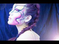 ✫ WHIRLED AWAY ✫ Cirque Du Soleil Inspired Makeup