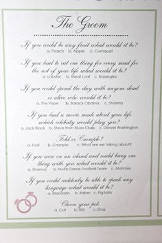 Personalized Wedding Crossword Puzzle. Use as Reception Game, Save ...