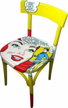 Beau Sedia Dipinta Heaven. Furniture UpholsteryArt U0026 FurnitureFurniture  DesignPainted FurnitureChair MakeoverPop ...