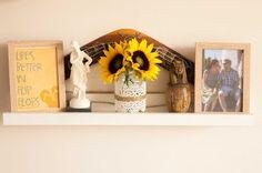 Summer Themed Shelf