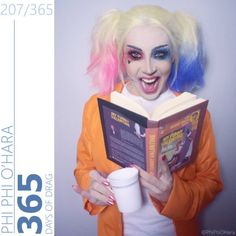 "…and of course, Harley Quinn. | This Drag Queen's ""Suicide Squad""…"