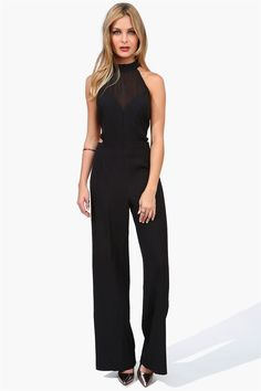 Vixen Jumpsuit in Black