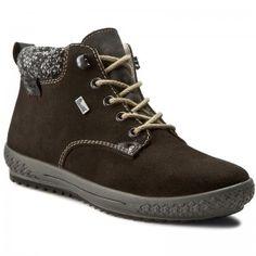 Magasított cipő RIEKER - Grey Combination