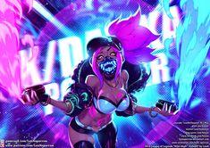 Wallpaper K/DA Akali Neon Mask LoL League of Legends lol Akali, K/DA - League of Legends, K/DA Akali, league of legends Lol League Of Legends, Evelynn League Of Legends, Akali League Of Legends, Akali Lol, Arte Cyberpunk, Fanarts Anime, Digital Art Girl, Fan Art, Game Character