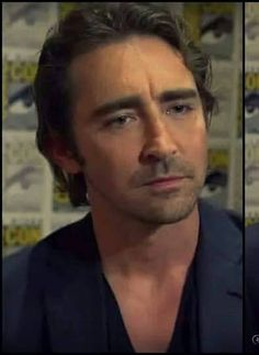 He's so hot when he looks curious. Sexy!! Lee Pace @ San Diego Comic-Con July 24 2014