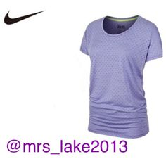 WAS $38! Nike purple boyfriend Tee New with tags attached. I have 3 of the same top, all size small. Color is purple, (last picture is true to color) with small polka dots. They fit a little oversized so a medium could fit as well. Please use the offer button if interested. 😁 *Smoke/Pet free home *ship same/next day *No holds *No trades Nike Tops Tunics