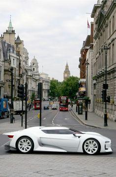 CITROËN GranTurismo 5 concept sports car