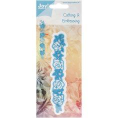 Joy! Crafts Cut & Emboss Dies - Rose Border | Happy Crafting | Blitsy