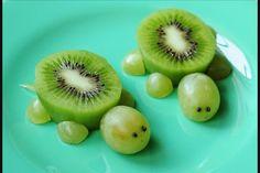Grape & Kiwi Turtles