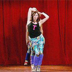 Chelsea Peretti dance routine Brooklyn Nine-Nine.