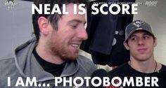 Evgeni Malkin, Photobomber Neal is Score...I Am Photobomber