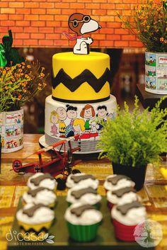 Ouse ser quem você é: 2 anos do Daniel- Festa do Snoopy e sua turma