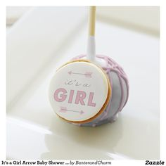 It's a Girl Arrow Baby Shower Favor Cake Pops