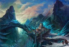 Crystal-Mountains by flaviobolla.deviantart.com on @deviantART
