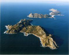 Small islands in galician coast, Spain - Google Search