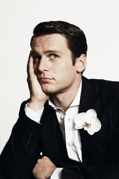 American actor and singer Jonathan Groff is photographed by Danielle Levitt for the December 2013/January 2014 'OUT100' issue of OUT magazine.