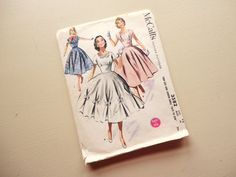 vintage mccalls pattern 3582 teen size and by vintagetouchtoo, $3.00
