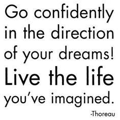on SELF-CONFIDENCE ... Thoreau    www.christchurchschool.org