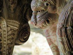 Prieuré de Serrabone - French Pyrenees Louisiana Plantations, Paranormal Romance, Time Travel, Lion Sculpture, France, Statue, Adventure, Book, Ellora