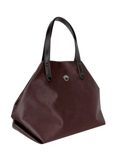 GOSHICO, aw2015, shoulder bag, marsala. To download high or low resolution product images view Mondrianista.com (editorial use only).
