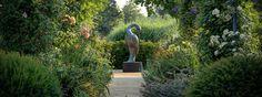 Sculpture by the Lakes sculpture park at Dorsets Pallington Lakes.
