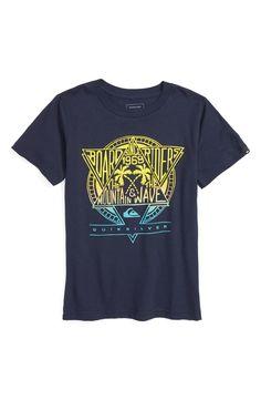Quiksilver 'Hang Ten' Graphic T-Shirt (Big ...