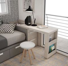 44 best small kitchen design ideas for your tiny space 32 Small Bedroom Ideas Design Ideas Kitchen Small Space Tiny Tiny House Furniture, Space Saving Furniture, Home Furniture, Furniture Ideas, Space Saving Desk, Boys Bedroom Furniture, Smart Furniture, Space Saver, Country Furniture