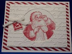 """Supplies: Stamp Sets: Santa List stamp, Very Merry Tags stamp set Paper: Whisper White card stock: 8-1/2""""x5-1/2"""", 4-3/4""""x3-1/2"""", 3-14""""x3-1/4..."""