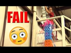 HUGE Domino Tower Fail | The Kid Should See This