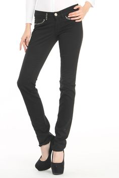 Kochi Black Studded Jeans