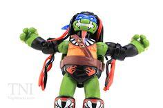 TMNT WWE Leonardo as Finn Balor Ninja Superstars Turtles Figure Video Review & Image Gallery