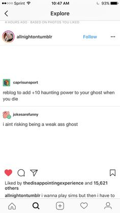 I'm not risking being your friendly neighbourhood ghost, imma haunt some people