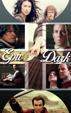 """Jamie to Black Jack Randall: """"I'll thank ye to take yer hands off my wife!""""  