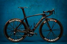 This Specialized S-Works road bike looks fast just standing still!