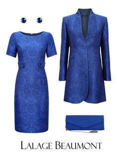 #motherofthebride #wedding #weddinginspiration #london #lalagebeaumont #motherofthebrideoutfit #royalblue #sapphireblue #weddingcolourinspiration Mother Of Bride Outfits, Mother Of The Bride, High Tea Outfit, Elegant Dresses, Nice Dresses, Suits For Women, Clothes For Women, African Attire, Groom Dress